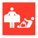 Blusdeken Pictogram - sticker