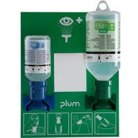Plum Oogspoelstation incl. 1x 500 ml. en 1x 200 ml. pH neutraal