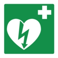 AED Pictogram - ILCOR sticker